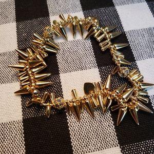 Stella and Dot gold stretch bracelet